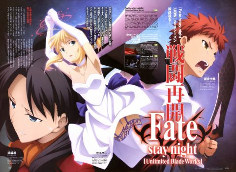 Fate Stay Night – Unlimited Blade Works