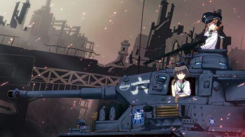 Girls und Panzer – Kore ga Hontou no Anzio-sen Desu! (720p|250MB)